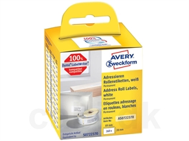 Avery 99010 LabelWriter Adresse Etiket AS0722370