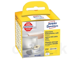 Avery 99013 LabelWriter Adresse Etiket ASS0722400