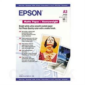 Epson Mat Heavy Weight Inkjet Papir C13S041261
