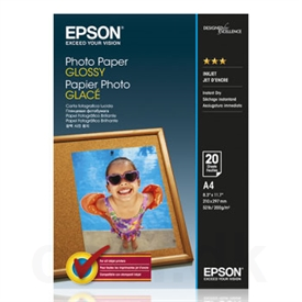 Epson Glossy Photo Inkjet Papir C13S042538